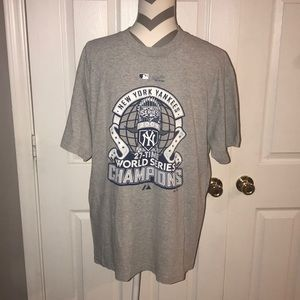 New York Yankees World Series Tee L
